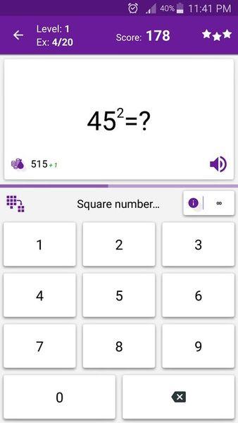 Скачать Математические хитрости на Андроид screen 2