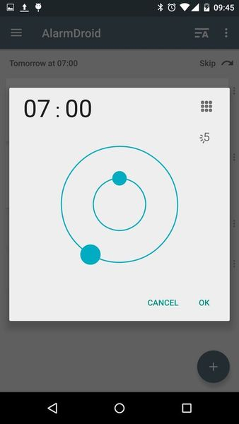 Скачать AlarmDroid (alarm clock) на Андроид screen 3