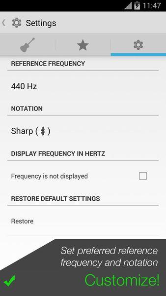 Скачать Гитарный тюнер – Pro Guitar на Андроид screen 3