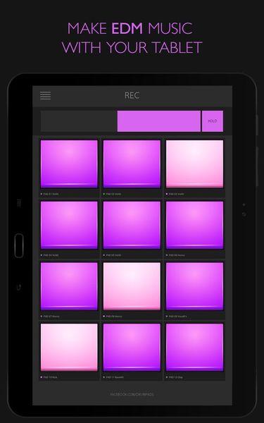 Скачать Electro Drum Pads 24 на Андроид screen 2