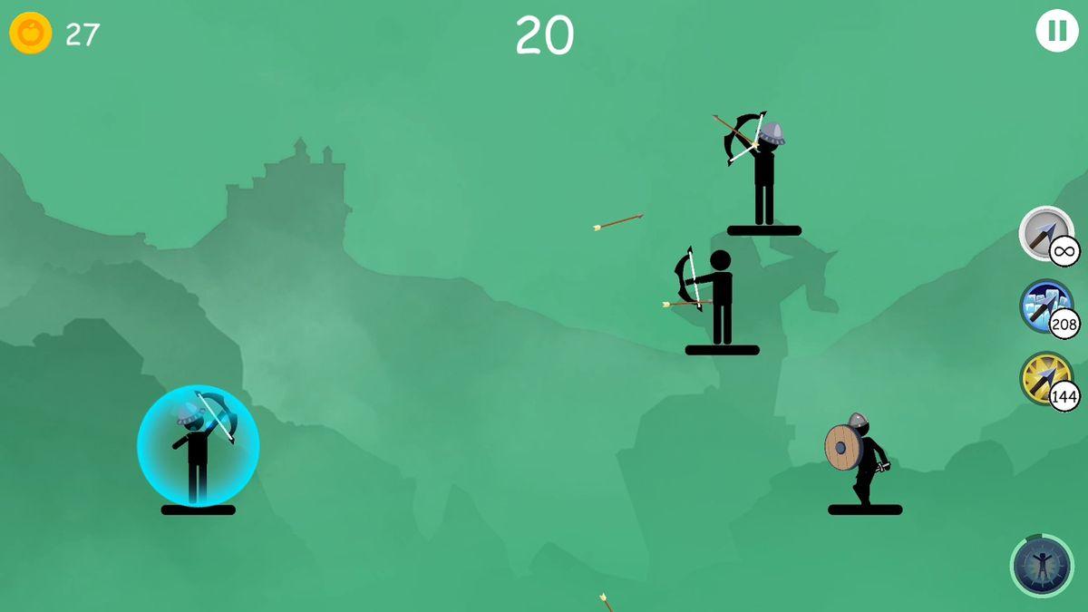 Скачать Лучники 2 на Андроид screen 1