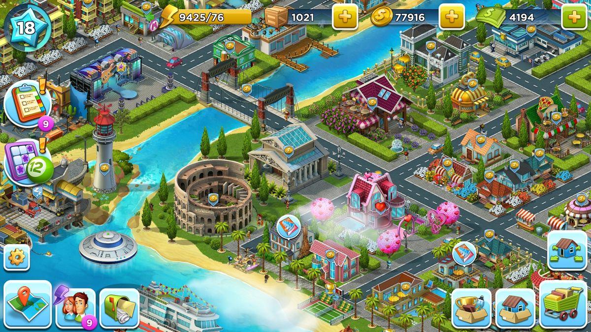 Скачать SuperCity: Строй город чудес! на Андроид screen 1