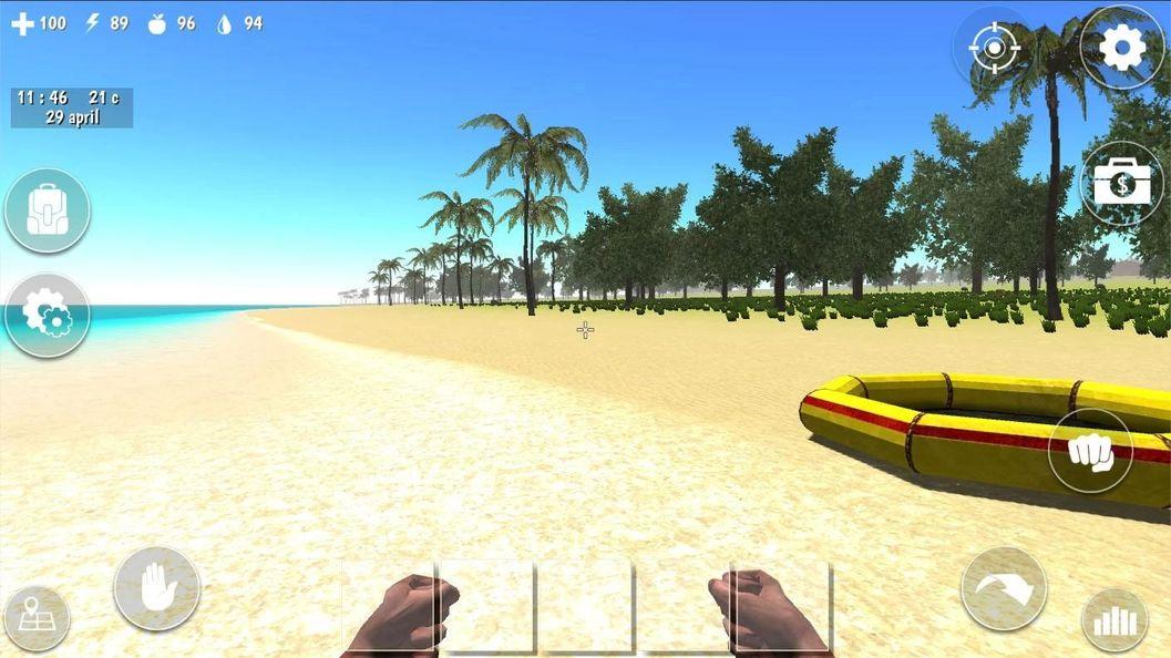 Скачать Ocean Is Home: Survival Island на Андроид — Мод много энергии screen 1