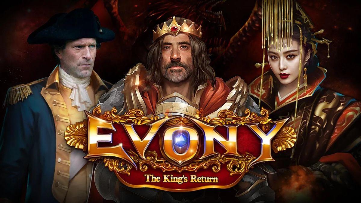 Скачать Evony — Возвращение Короля на Андроид screen 1