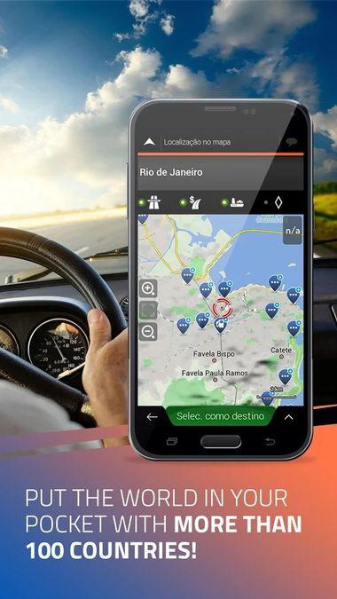 Скачать iGO Navigation на Андроид screen 1