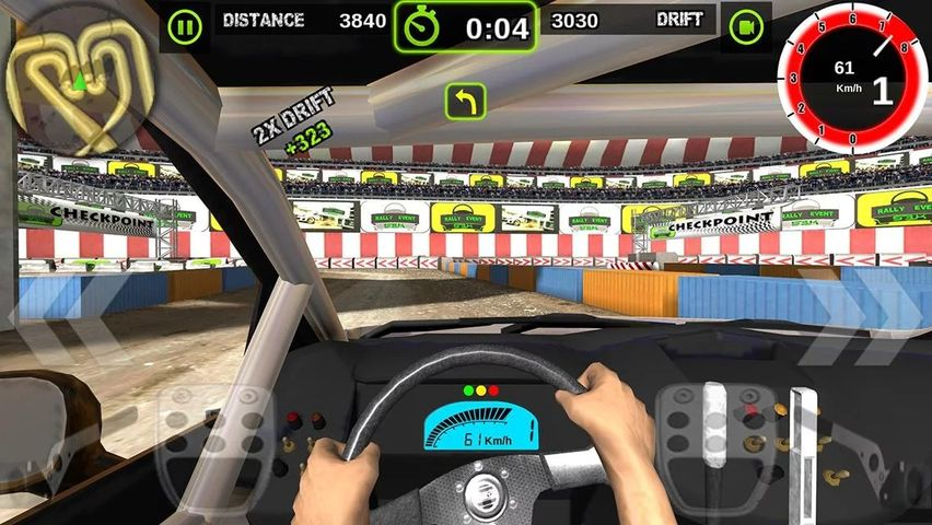 Скачать Rally Racer Dirt на Андроид screen 1