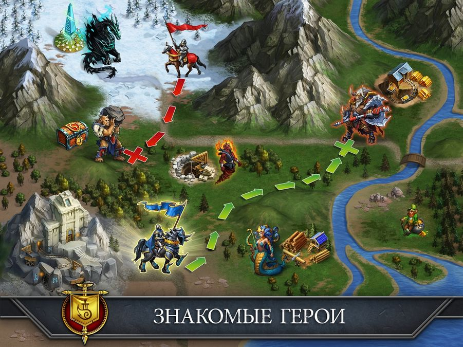 Скачать Gods and Glory: War for the Throne на Андроид screen 1