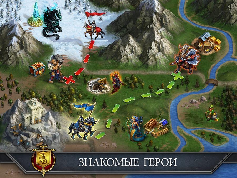 Скачать Gods and Glory: War for the Throne на Андроид screen 1