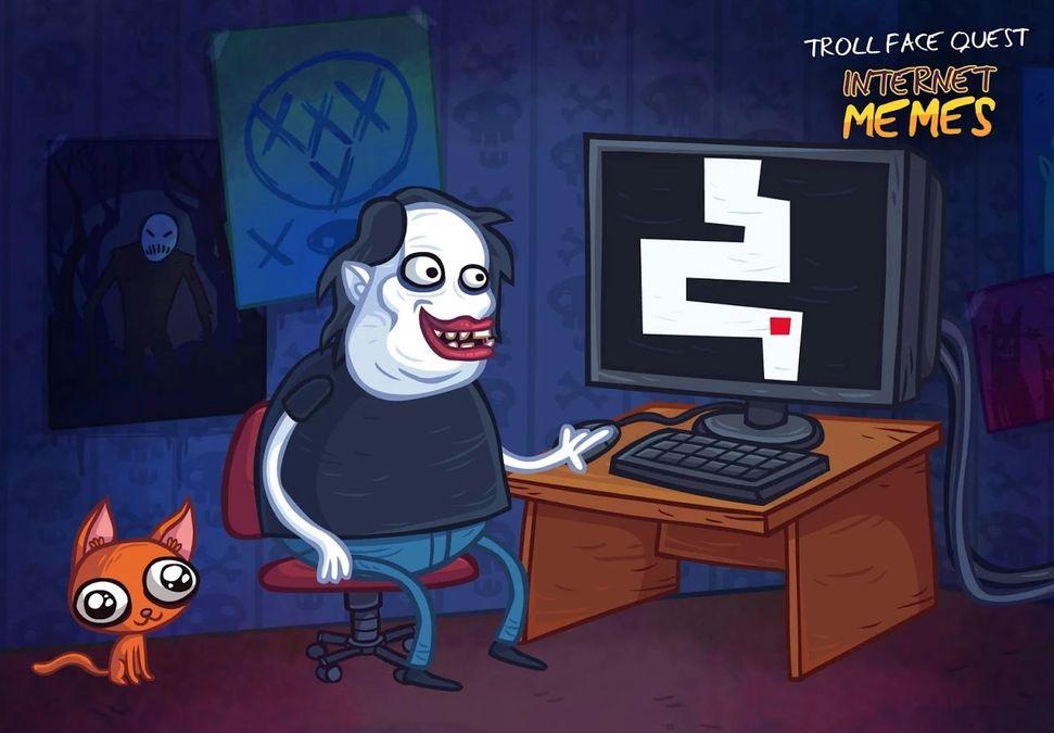 Скачать Troll Face Quest Internet Memes на Андроид screen 1