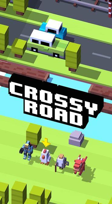 Скачать Crossy Road на Андроид — Мод много монет screen 1