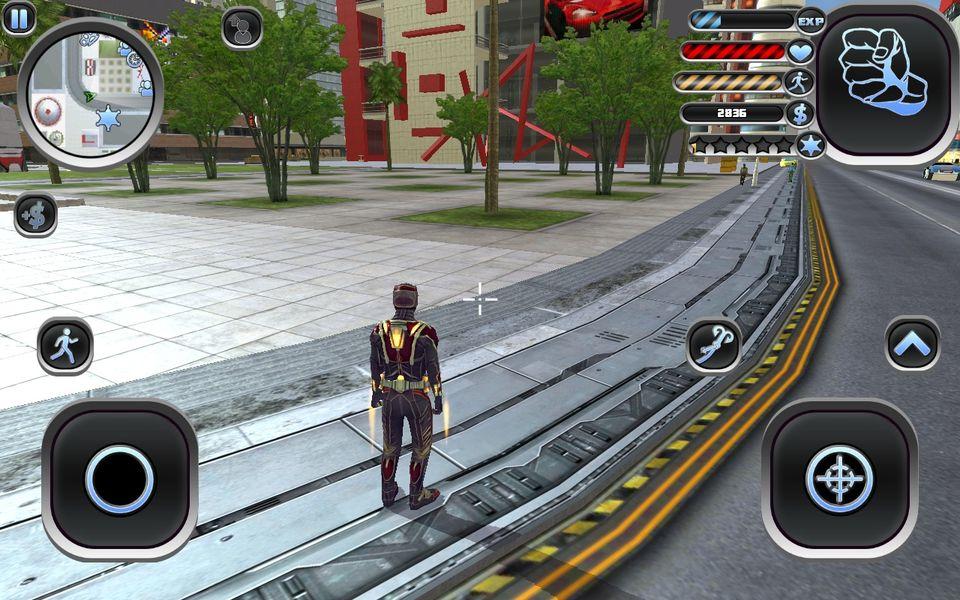 Скачать Amazing Hero: Man Of Justice на Андроид screen 1