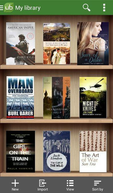 Скачать Universal Book Reader на Андроид — Premium версия screen 1