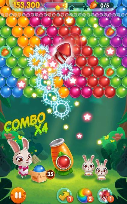 Скачать Bunny Pop на Андроид screen 1