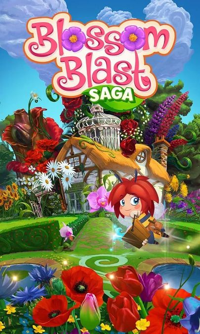 Скачать Blossom Blast Saga на Андроид — Мод много золота screen 1