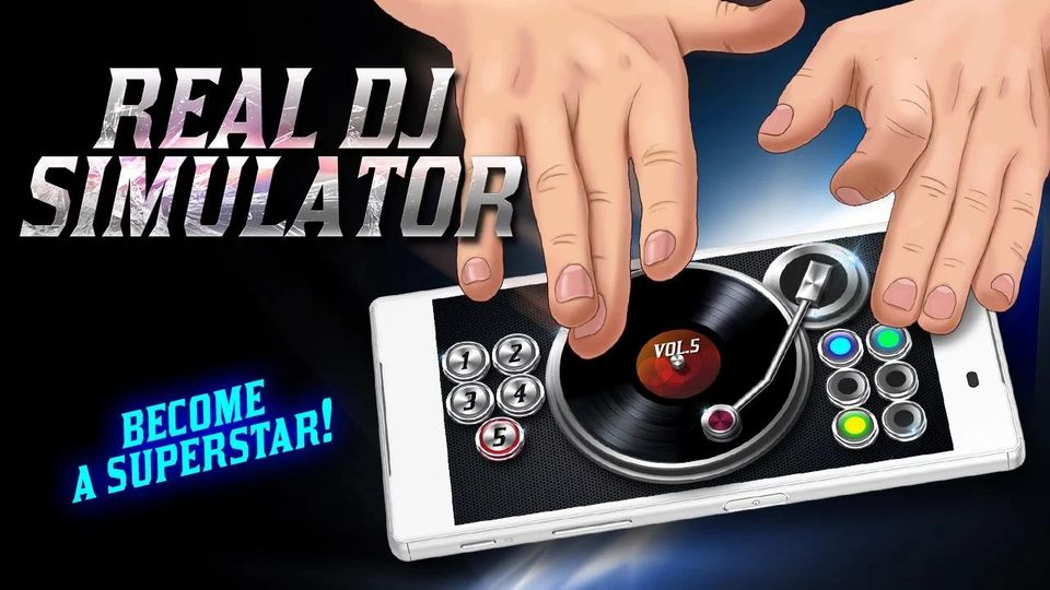 Скачать Real Dj Simulator на Андроид screen 3