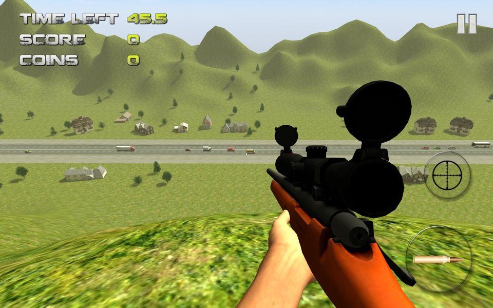 Скачать Sniper: Traffic Hunter на Андроид — Последняя версия screen 1