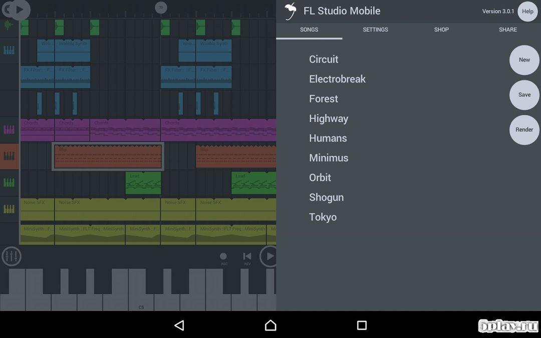 Скачать FL Studio на Андроид screen 1