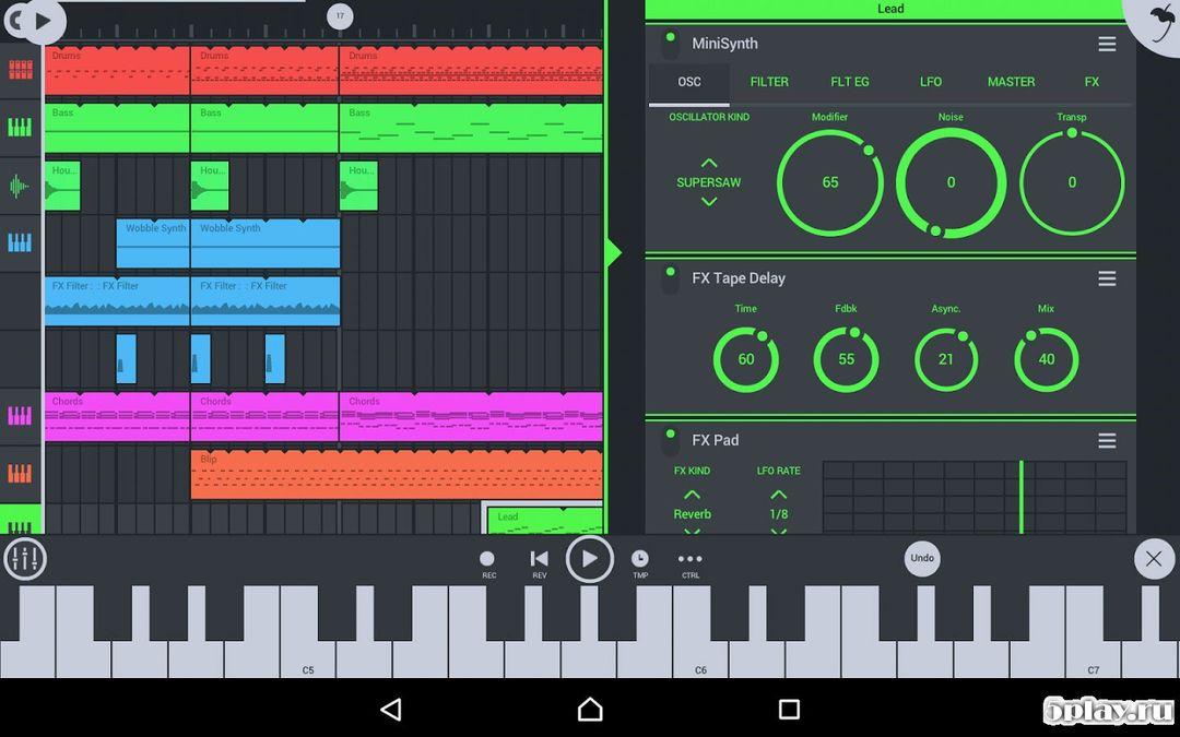 Скачать FL Studio на Андроид screen 2