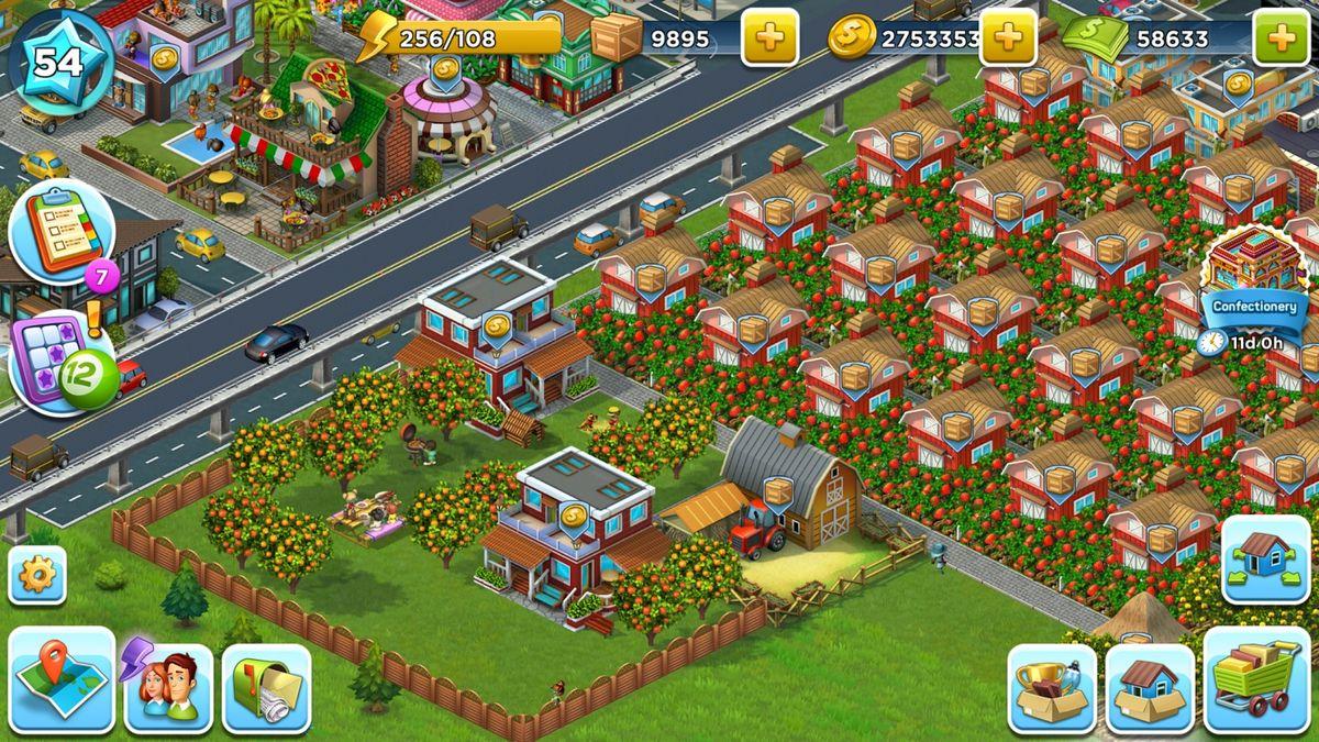 Скачать SuperCity: Строй город чудес! на Андроид screen 2