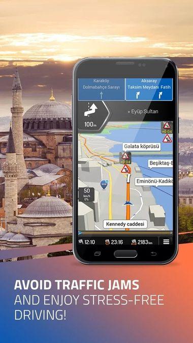 Скачать iGO Navigation на Андроид screen 2