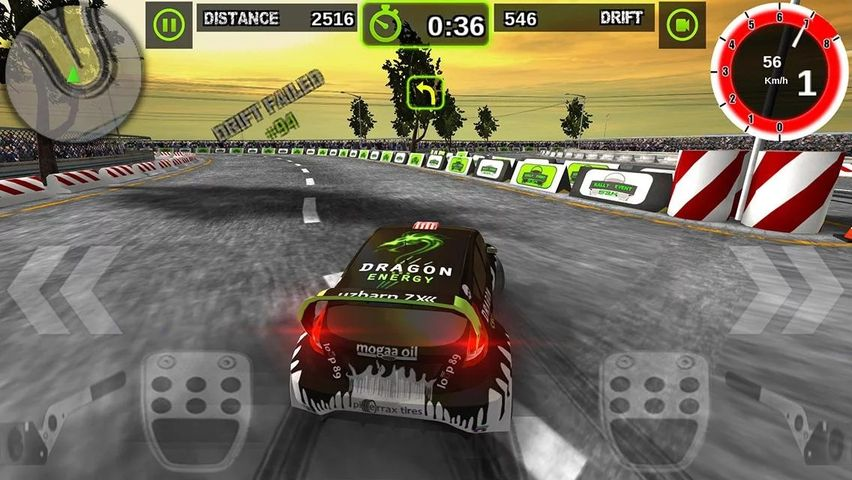 Скачать Rally Racer Dirt на Андроид screen 2
