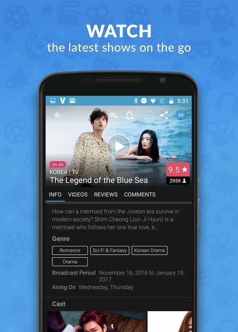 Скачать Viki: Телевизионные драмы и фильмы на Андроид screen 2