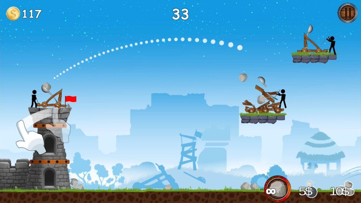 Скачать The Catapult на Андроид screen 2