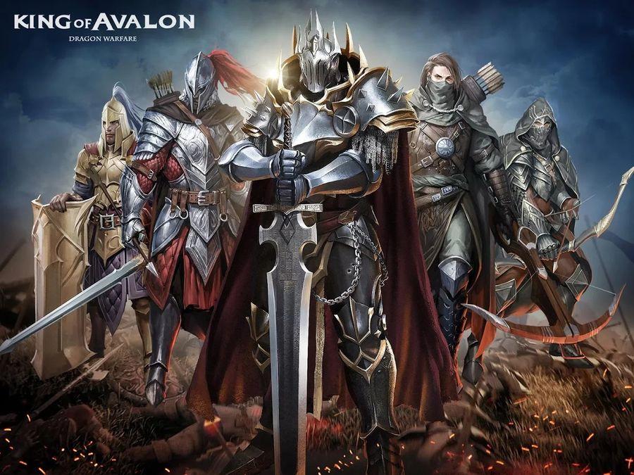 Скачать Король Авалона: Битва Драконов на Андроид screen 2