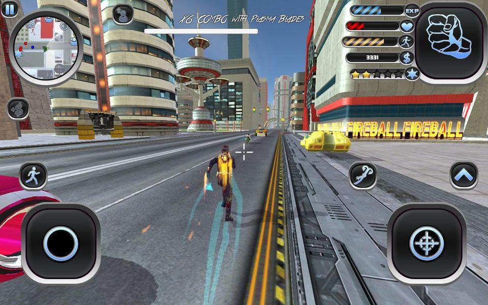 Скачать Amazing Hero: Man Of Justice на Андроид screen 2