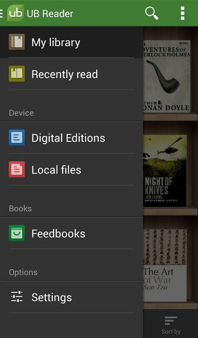 Скачать Universal Book Reader на Андроид — Premium версия screen 2