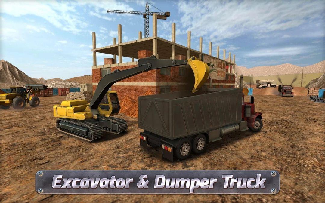 Скачать Construction Sim 2017 на Андроид — Мод много денег screen 2