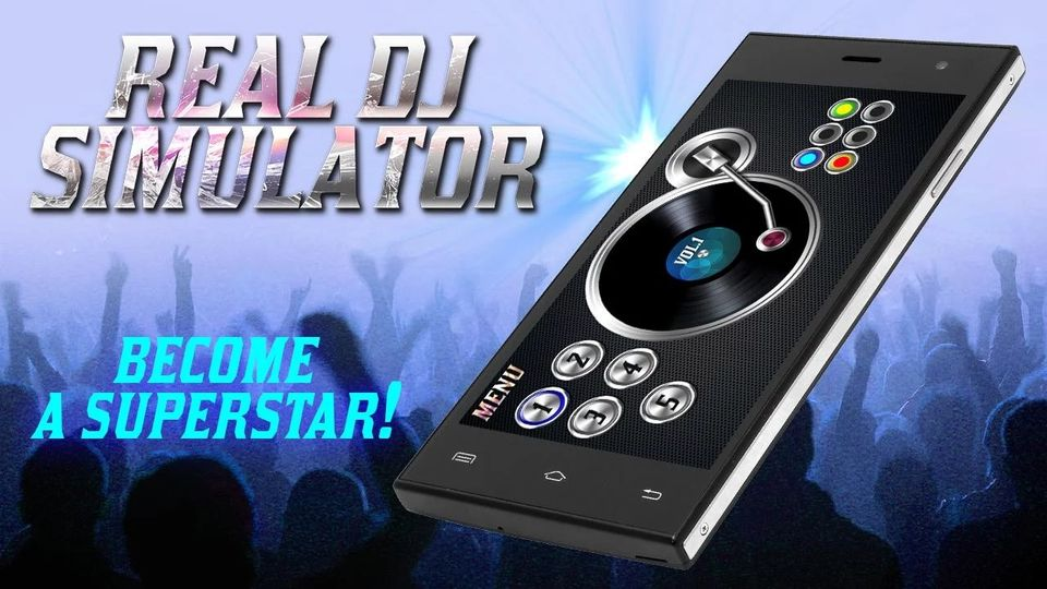 Скачать Real Dj Simulator на Андроид screen 2
