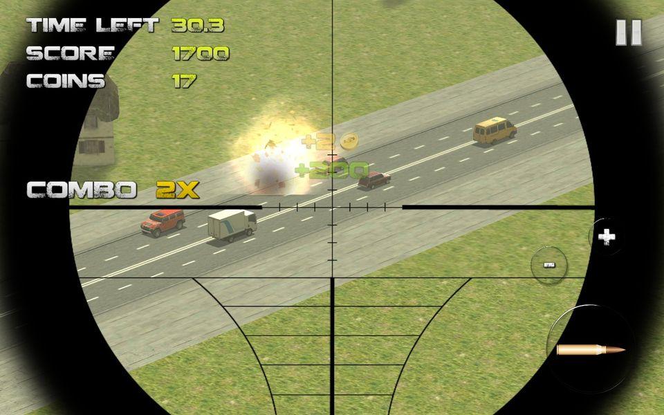 Скачать Sniper: Traffic Hunter на Андроид — Последняя версия screen 2