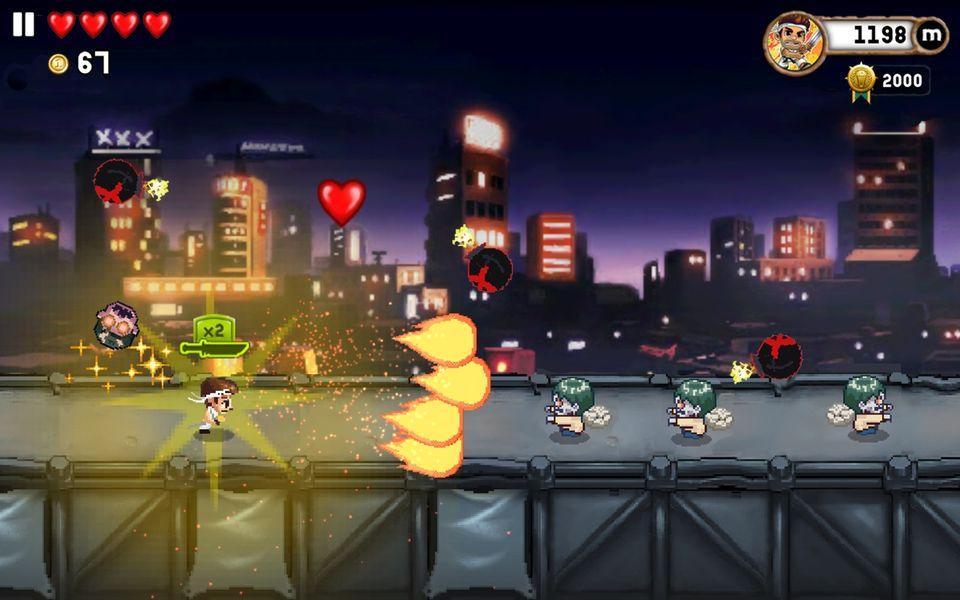 Скачать Monster Dash на Андроид — Мод свободные покупки screen 2