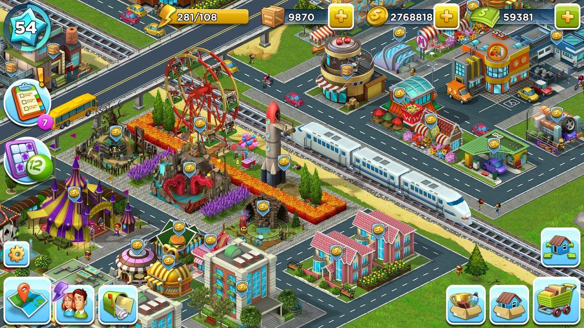 Скачать SuperCity: Строй город чудес! на Андроид screen 3