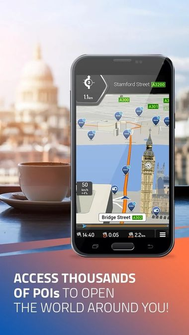 Скачать iGO Navigation на Андроид screen 3