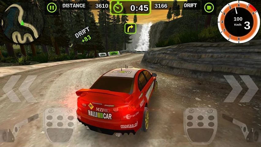 Скачать Rally Racer Dirt на Андроид screen 3