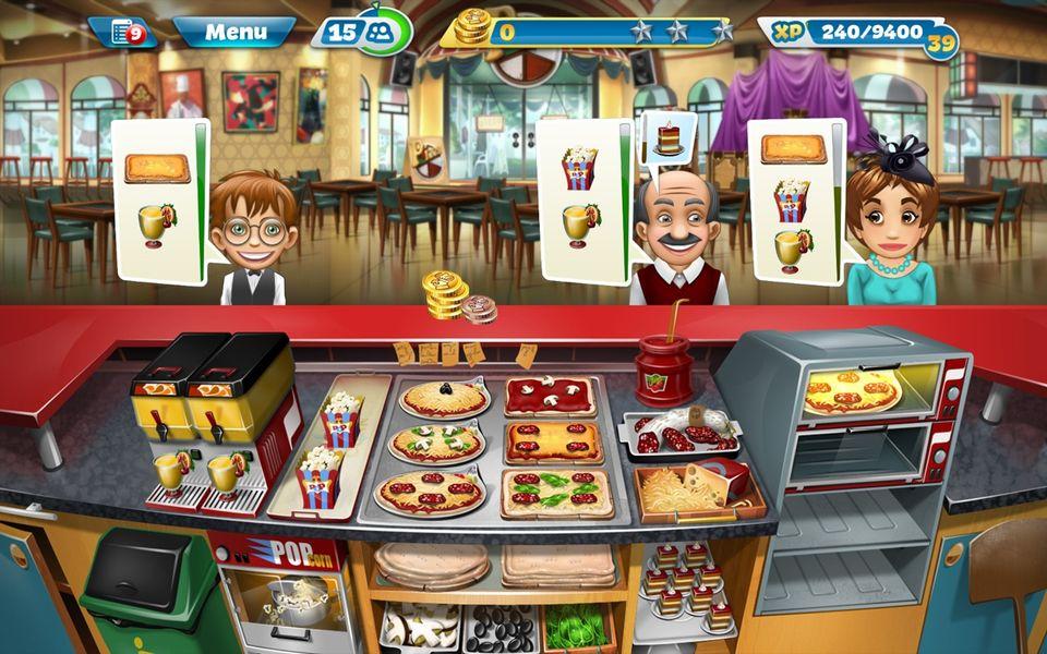 Скачать Кухонная Лихорадка на Андроид — Мод много денег screen 3