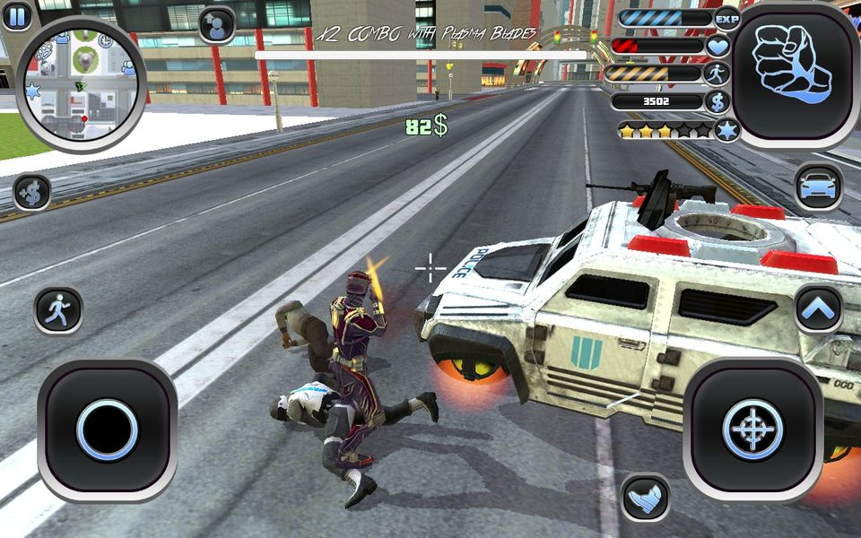 Скачать Amazing Hero: Man Of Justice на Андроид screen 3