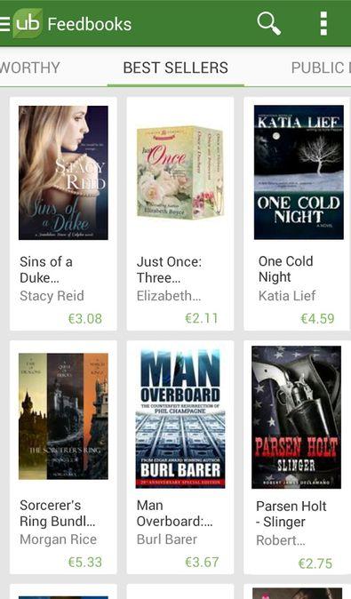 Скачать Universal Book Reader на Андроид — Premium версия screen 3