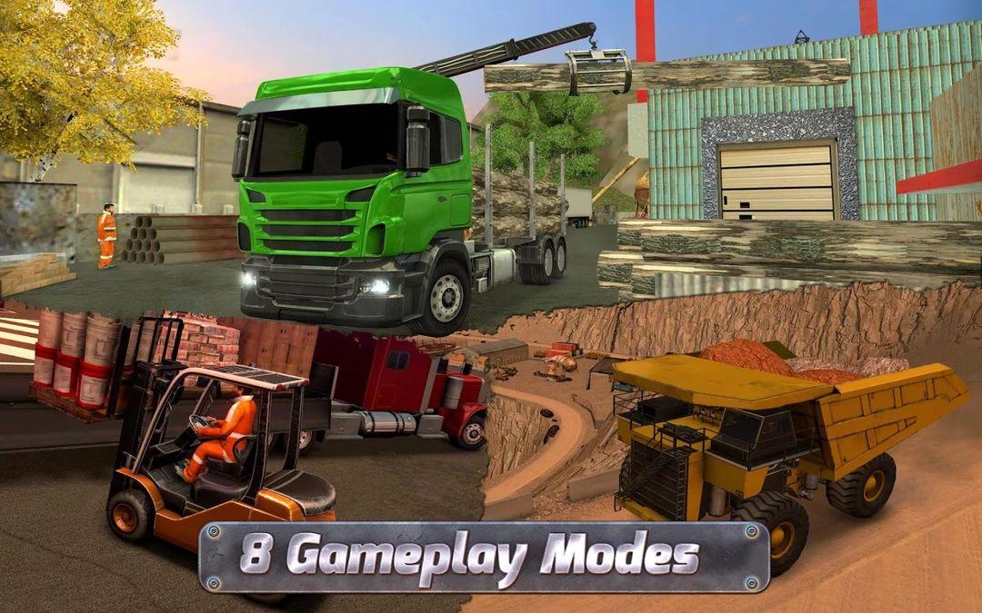 Скачать Construction Sim 2017 на Андроид — Мод много денег screen 3