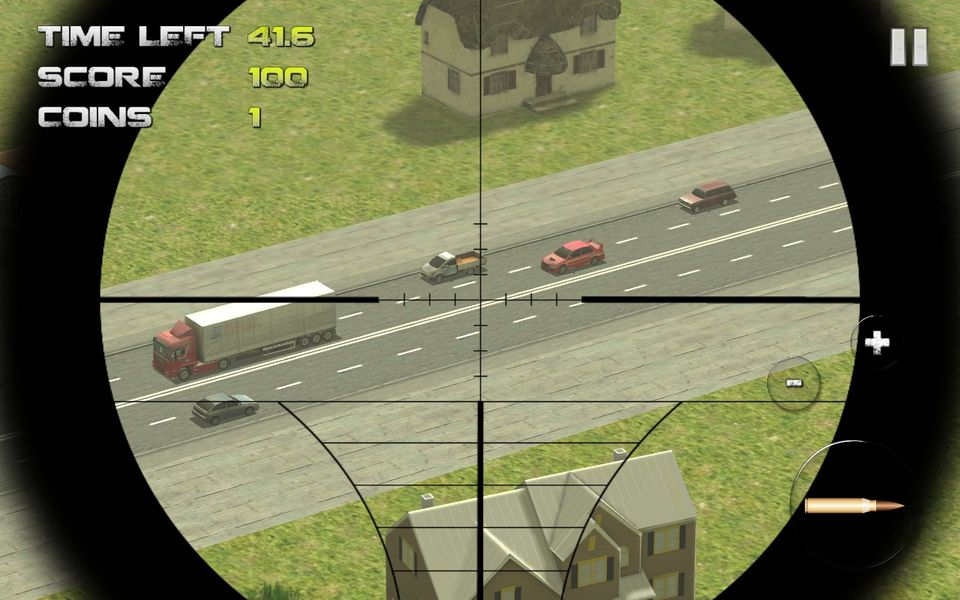 Скачать Sniper: Traffic Hunter на Андроид — Последняя версия screen 3