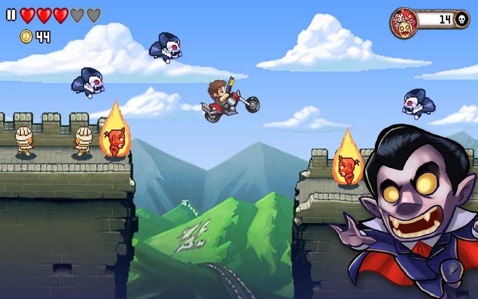 Скачать Monster Dash на Андроид — Мод свободные покупки screen 3