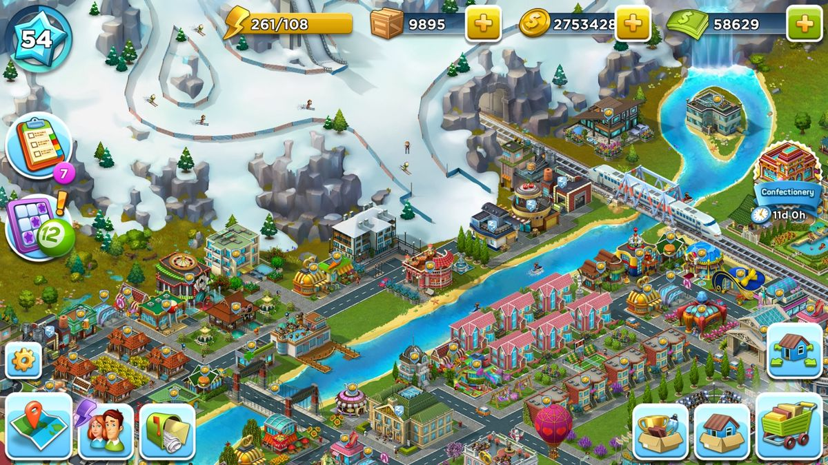 Скачать SuperCity: Строй город чудес! на Андроид screen 4