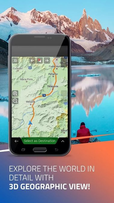 Скачать iGO Navigation на Андроид screen 4