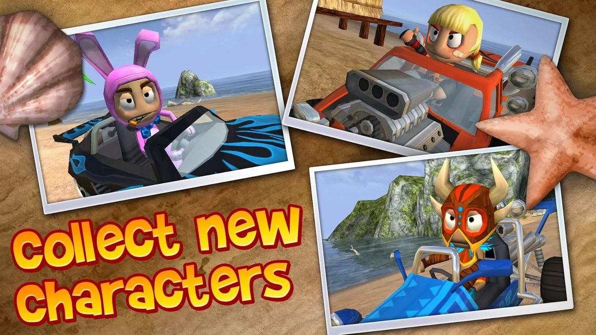Скачать Beach Buggy Blitz на Андроид — Мод много монет screen 4