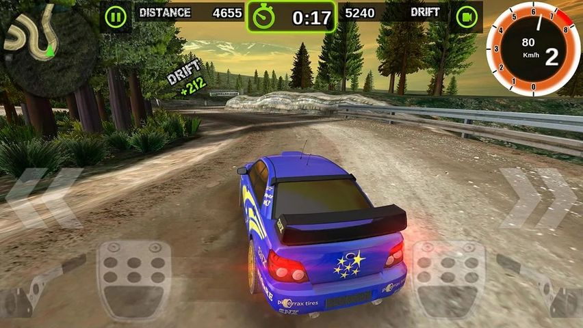 Скачать Rally Racer Dirt на Андроид screen 4