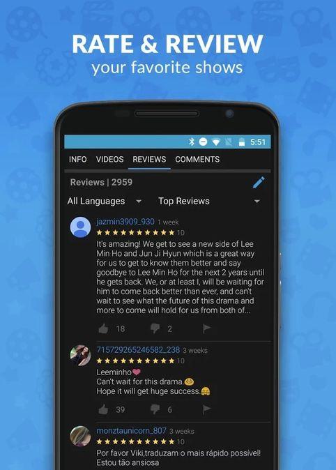 Скачать Viki: Телевизионные драмы и фильмы на Андроид screen 4
