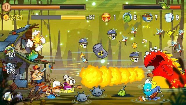 Скачать Swamp Attack на Андроид — Мод много денег screen 4