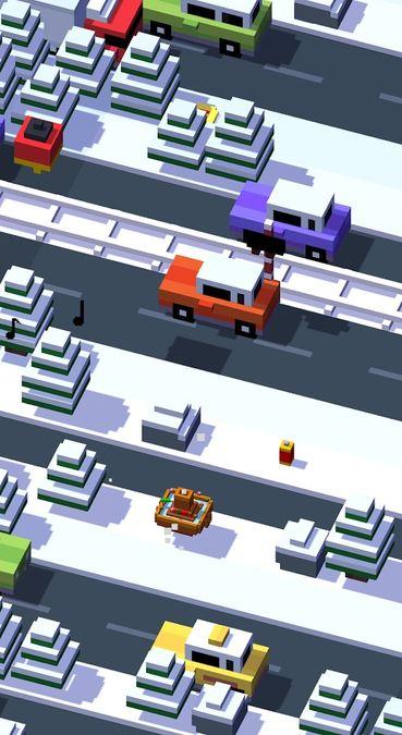 Скачать Crossy Road на Андроид — Мод много монет screen 4